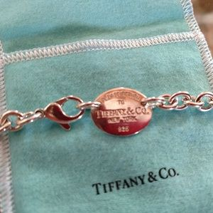 Authentic Return to Tiffany necklace.